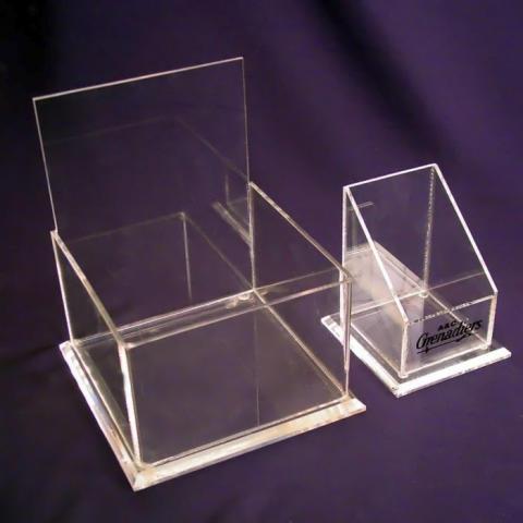 Bordsskylt Akrylbox