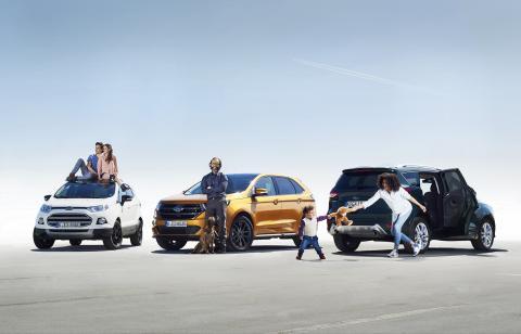 Kdo stojí za evropským boomem vozů SUV? Maminky, mladí lidé a aktivní padesátníci, zjistil Ford