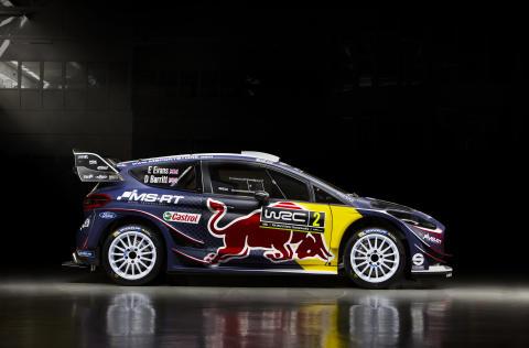 Ford storsatsar på rallyteamet M-Sport inför FIA World Rally Championship 2018