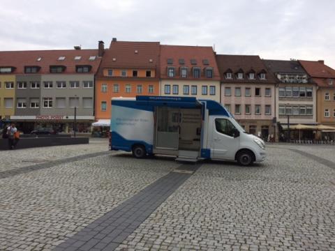 Beratungsmobil der Unabhängigen Patientenberatung kommt am 14. Februar nach Schweinfurt.