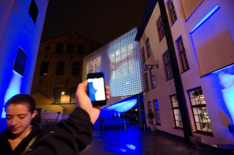Nighttime Echoes - Interaktiv IT-installation 4