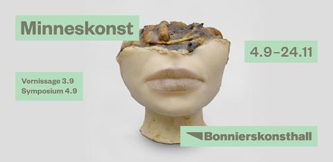 Hösten på Bonniers Konsthall: Minneskonst