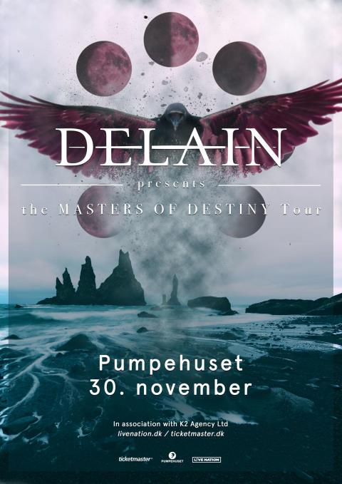 Det symfoniske metal-band, Delain, kommer til Pumpehuset 30. november