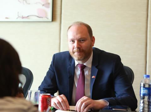 Sjømatrådets fiskeriutsending i Kina, Sigmund Bjørgo