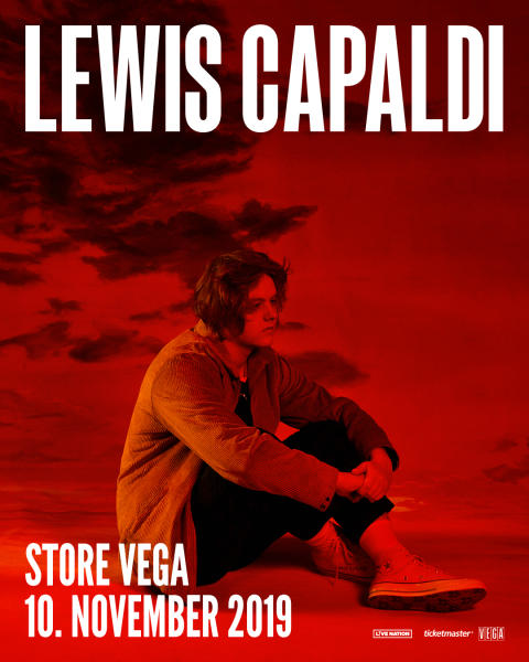 Lewis Capaldi annoncerer sit største headline-show i DK til dato når han kommer til Store VEGA til november