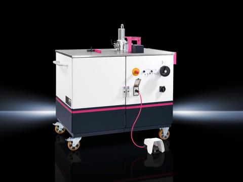 Rittals CW 120 böjnings-, kapnings- och hålstansningsenhet (Copper Workstation)