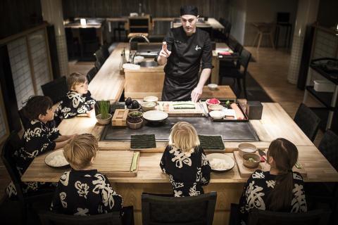 Sushiskola på Yasuragi Kids