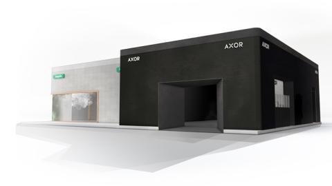 AXOR og hansgrohe imponerer på designmesse