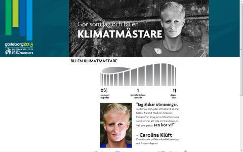 Bli klimatmästare med inomhus-EM i friidrott