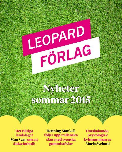 Leopard förlag sommarens boknyheter 2015