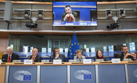 Launching #6EWCS in European Parliament