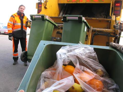 Hämtning av kompost
