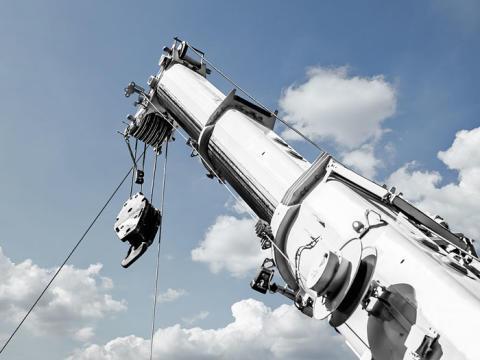 Överlägsen smörjning av mobila teleskopkranar