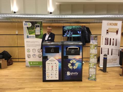 EWF Eco deltog på Park & Gata St Gertrud Konferensen/mässan i Malmö