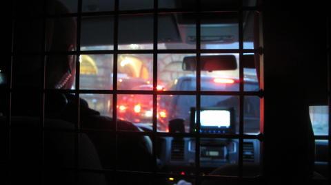 Skudsikker transport fra fængsel til domstol