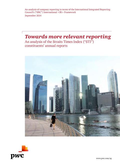 PwC: Small steps for Singapore companies could mean a giant leap for more relevant reporting
