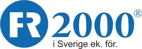 Nyhetsbrev FR2000 - Maj 2016