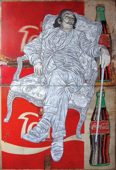 Dali Sits on Coke
