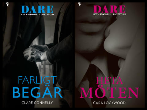 Harlequin släpper nya serien DARE - heta, sensuella och lustfyllda böcker med starka och självständiga kvinnor!