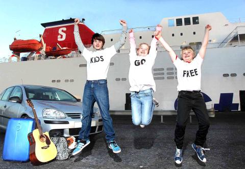 Travel with Stena Line and you'll never get bored – plus kids go free!