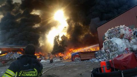 Pressinbjudan: Branden i Vaggeryd är temat i miljöhörnorna