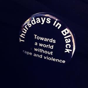 Samlad protest mot våld mot kvinnor
