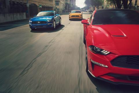 Ford Mustang ble verdens mest solgte sportsbil for 3. året på rad!