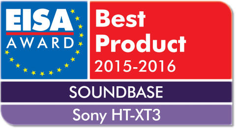 EISA award Sony HT-XT3