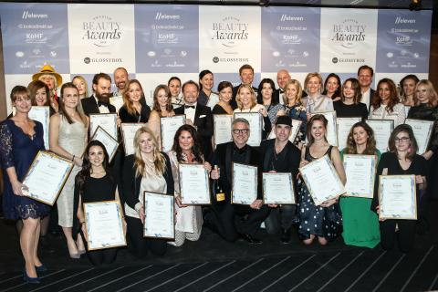 Swedish Beauty Awards premierade årets främsta skönhetsprodukter på Berns Salonger