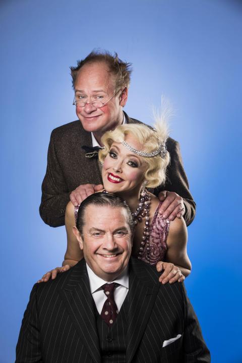 """Nu repeteras det för fullt inför sommarens komedi """"Charmörer på vift"""" med Robert Gustafsson och Allan Svensson i huvudrollerna!"""
