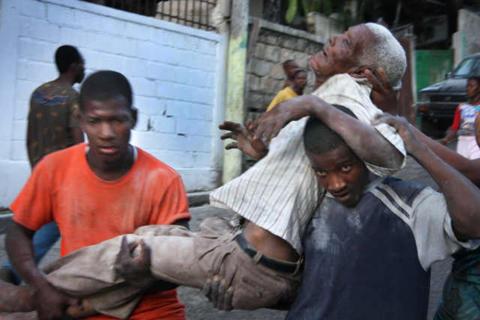Hjälpinsatser i Haiti