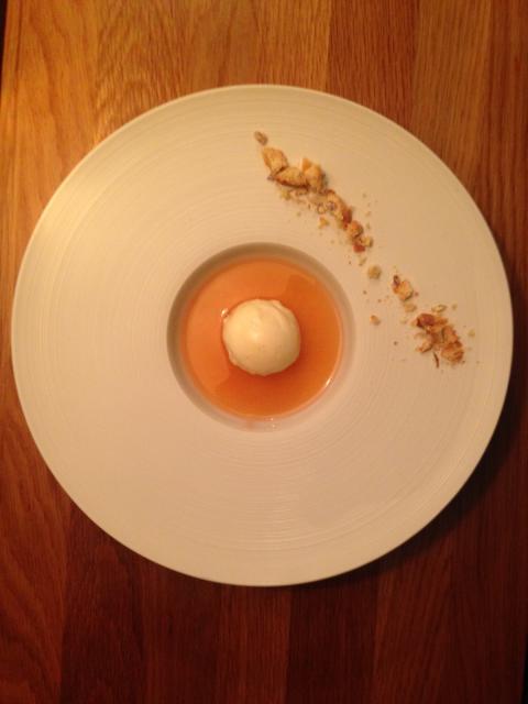 Dessert med Brännland Iscider och Tapas Umeå