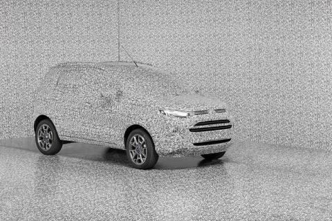 V obraně před špionážními fotografy sází Ford na optické iluze