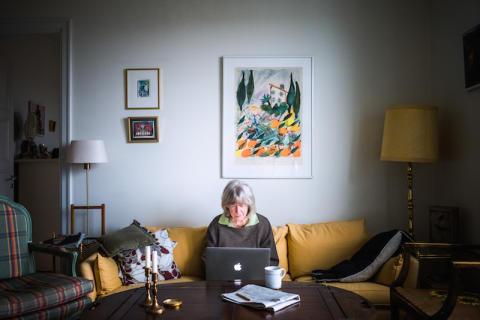 Följ med på 82-åriga Kerstin Wolgers första vecka