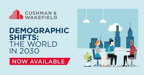 Så påverkar demografin globalt fastigheter och arbetsplatser det kommande decenniet