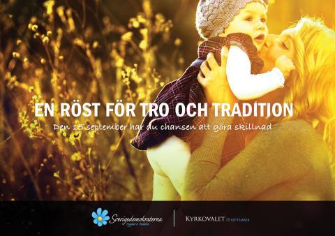 Sverigedemokraterna presenterade valmanifest till kyrkovalet