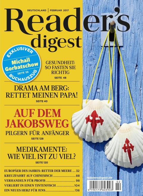 Cover Reader's Digest Ausgabe Februar 2017
