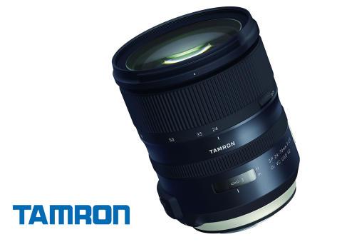 Nya Tamron 24-70 F/2,8 G2 får dubbla processorer