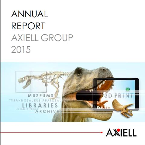 Annual Report for Axiell Group 2015