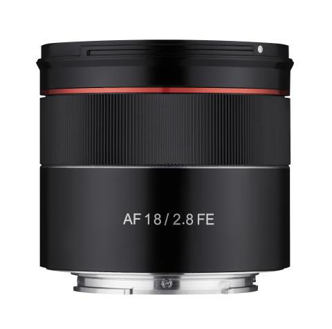 Samyang AF 18MM F2.8 FE - Product (04) No_hood_Front