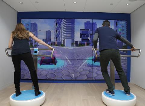 Ford visar hur mobilitet kan se ut i framtiden i interaktiv studio