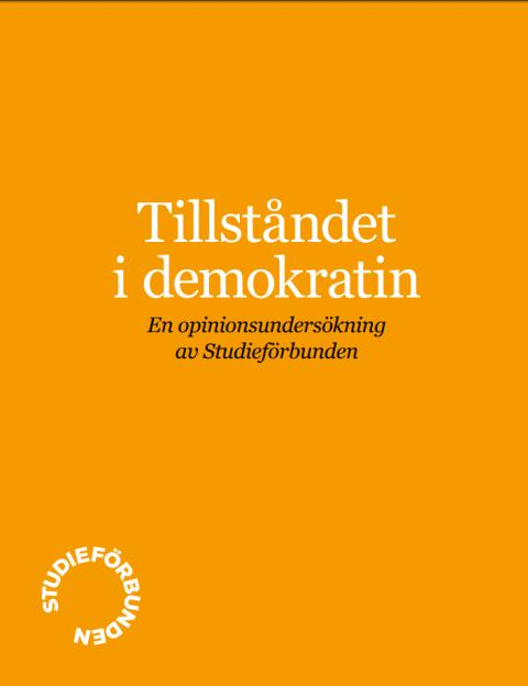 Opinionsundersökning: Tillståndet i demokratin