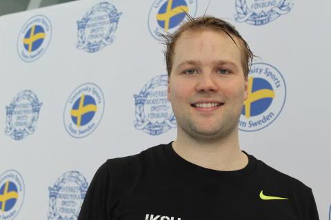 Guld till Holmertz från IKSU i helgens Student-SM i simning ... d5339c8a068be