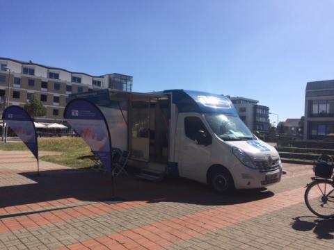 Beratungsmobil der Unabhängigen Patientenberatung kommt am 16. Januar nach Wolfsburg.