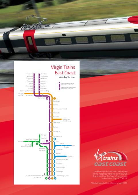 Virgin Trains East Coast - a guide for stakeholders