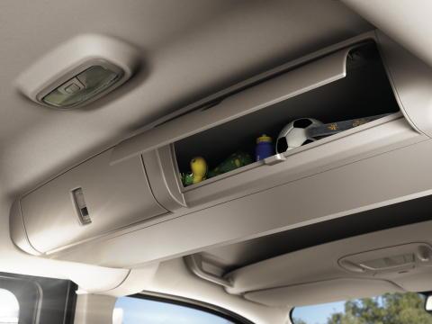 Ford Tourneo Connectin säilytystilaratkaisuja