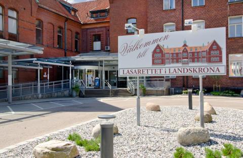 Ny hudmottagning i Landskrona