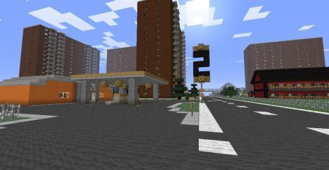 Mina Kvarter Minecraft