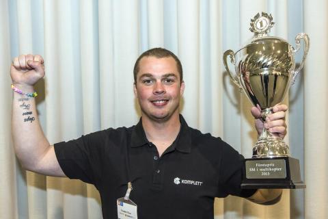Fredrik Thor vinnare av Multikopter-SM 2015