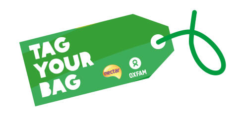 Customers bag Nectar points for Oxfam donations